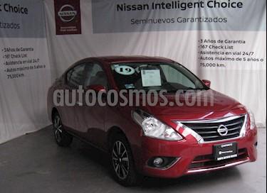 Nissan Versa Exclusive Aut usado (2019) color Rojo precio $243,000