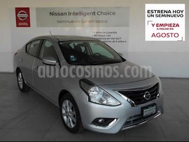 Nissan Versa 4P ADVANCE L4/1.6 MAN usado (2017) color Plata precio $175,000