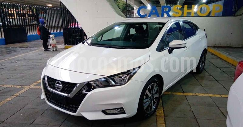 Nissan Versa Advance Aut usado (2020) color Blanco precio $253,900