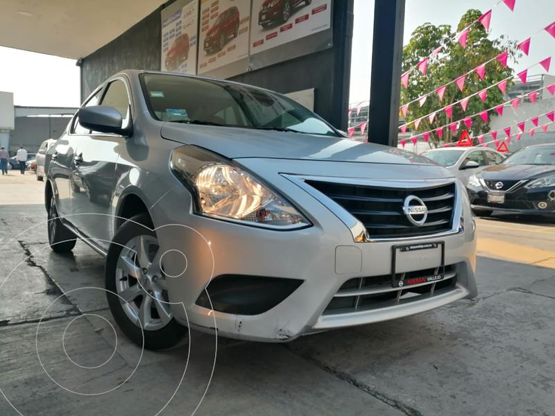 Foto Nissan Versa Sense Aut usado (2019) color Plata precio $199,800
