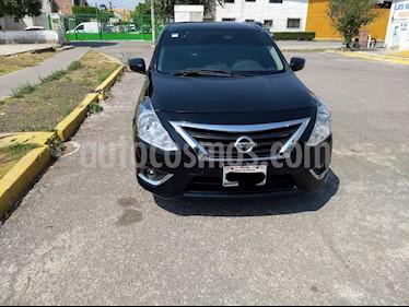 Nissan Versa Advance usado (2017) color Negro precio $150,000
