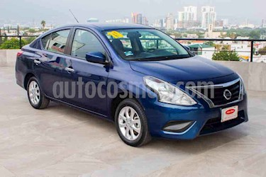 Nissan Versa Sense Aut usado (2019) color Azul precio $184,700