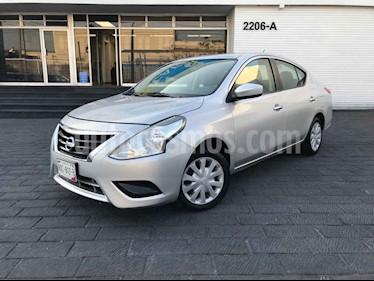 Nissan Versa 4p Sense L4/1.6 Aut usado (2018) color Plata precio $163,800