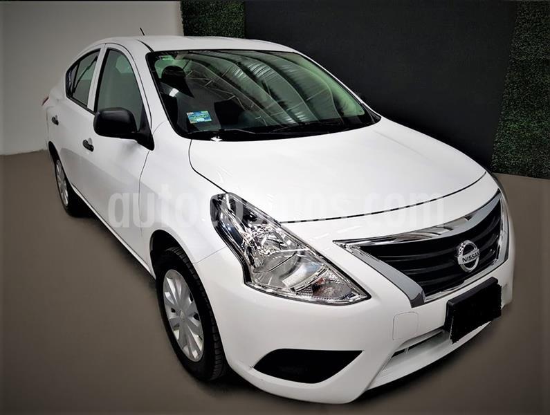 Nissan Versa Drive usado (2020) color Blanco precio $169,500