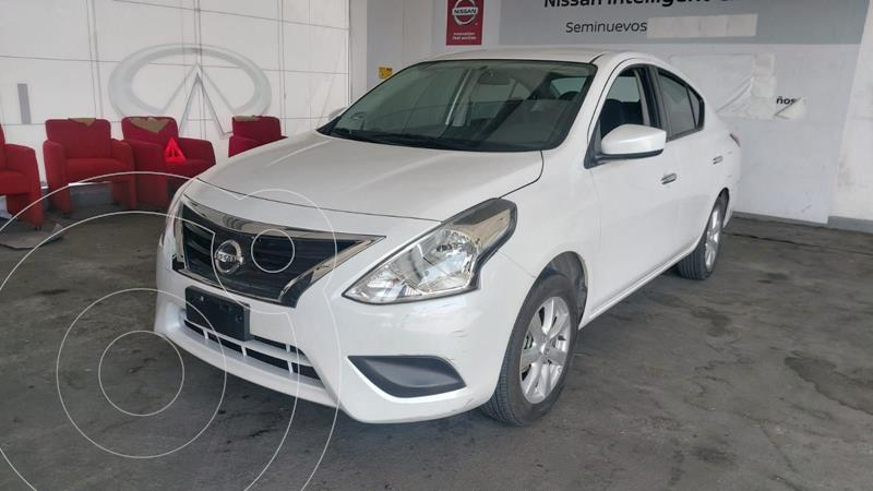 Foto Nissan Versa Sense Aut usado (2019) color Blanco precio $195,000
