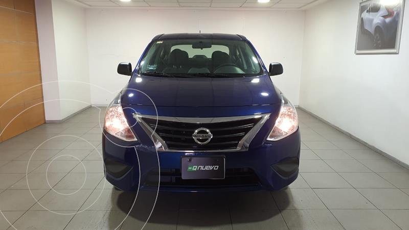 Foto Nissan Versa Drive A/A usado (2020) color Azul precio $189,000