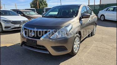 Nissan Versa 4p Sense L4/1.6 Aut usado (2018) color Plata precio $159,800