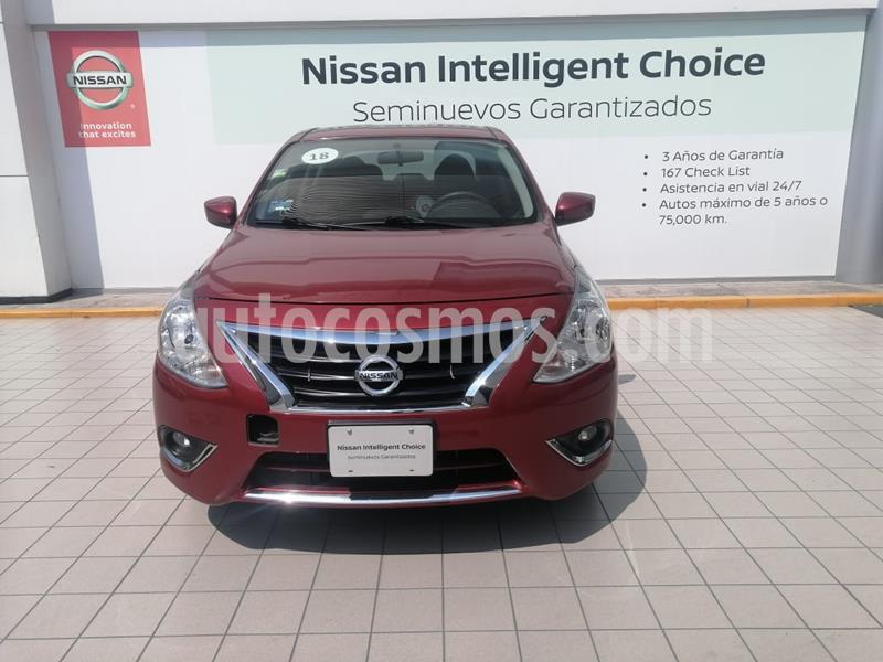 Nissan Versa Advance usado (2018) color Rojo precio $198,900
