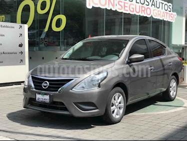 Nissan Versa Sense Aut usado (2019) color Cafe precio $225,000