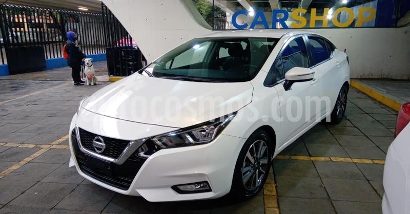 Nissan Versa Advance usado (2020) color Blanco precio $253,900