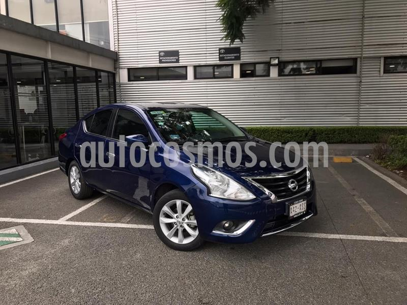 Foto Nissan Versa Advance usado (2018) color Azul precio $175,000