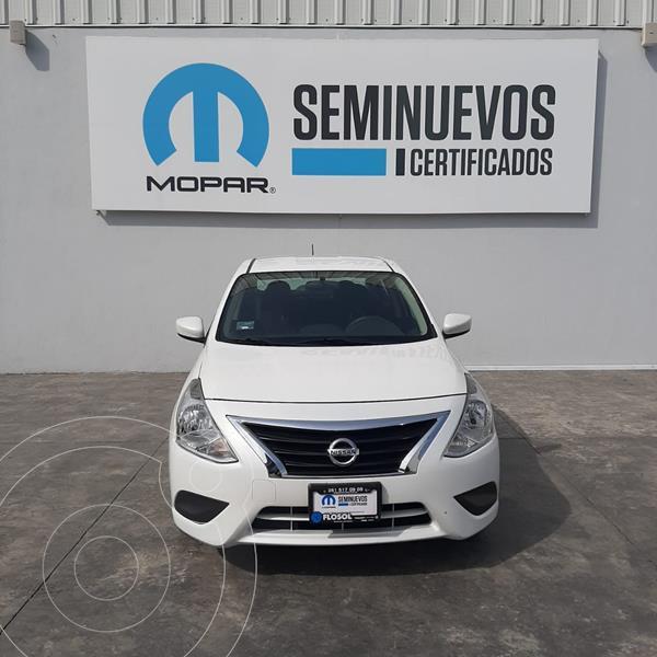 Nissan Versa Sense Aut usado (2019) color Blanco precio $190,000
