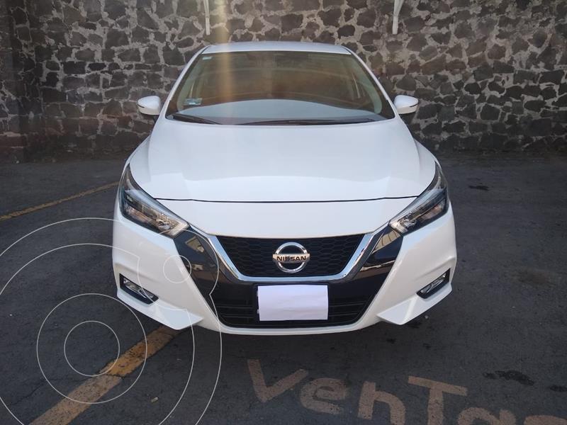 Nissan Versa Exclusive NAVI Aut usado (2020) color Blanco precio $286,000