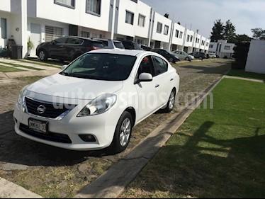 Nissan Versa Advance  usado (2014) color Blanco precio $125,000