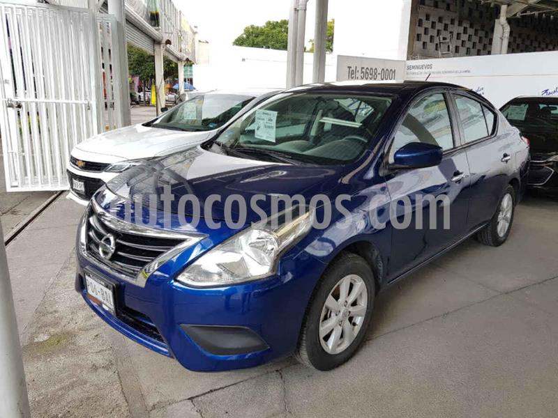 Nissan Versa Sense usado (2019) color Azul precio $184,000