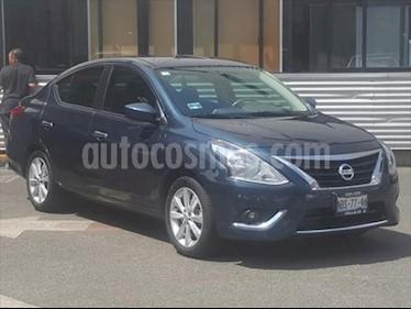Nissan Versa Advance Aut usado (2017) color Azul precio $160,000