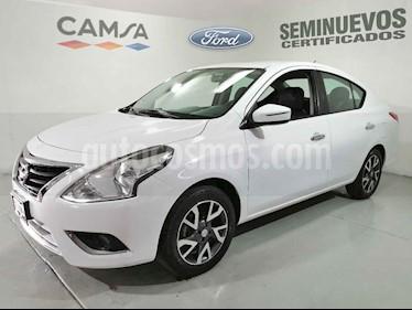 Nissan Versa Exclusive Aut usado (2015) color Blanco precio $179,900