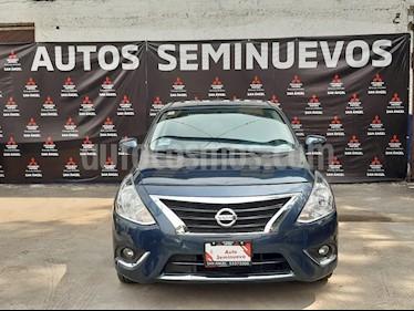 Nissan Versa Exclusive NAVI Aut usado (2017) color Azul precio $187,000