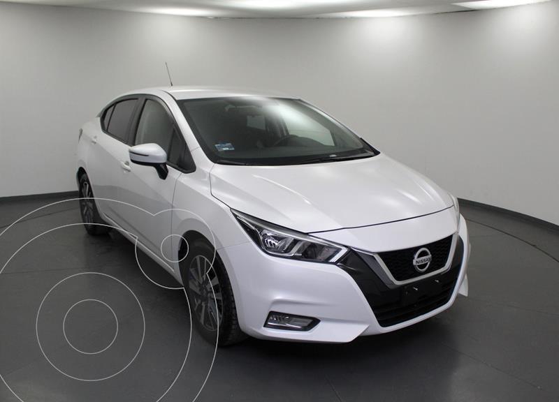 Nissan Versa Advance usado (2020) color Blanco precio $268,999