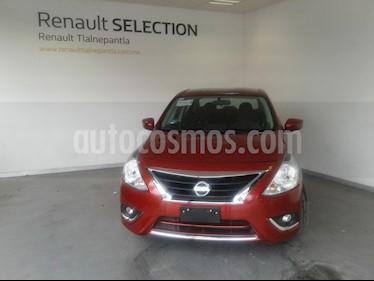 Nissan Versa Advance Aut usado (2018) color Rojo precio $195,000
