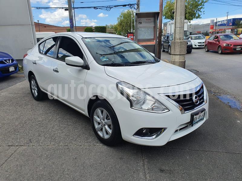 Nissan Versa Advance usado (2018) color Blanco precio $175,000