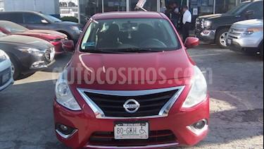 Nissan Versa Advance usado (2017) color Rojo precio $149,000