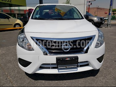 Nissan Versa Drive usado (2018) color Blanco precio $155,000