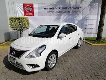 Nissan Versa Advance usado (2018) color Blanco precio $195,000