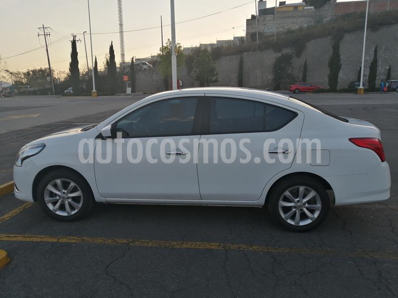 Nissan Versa Advance usado (2016) color Blanco precio $130,000