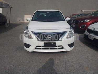 Foto Nissan Versa Sense Aut usado (2017) color Blanco precio $175,000