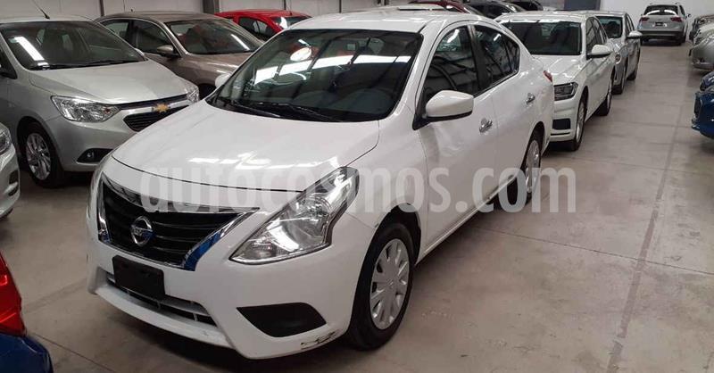 Nissan Versa Sense Aut usado (2018) color Blanco precio $143,900