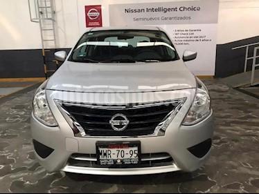 Nissan Versa 4P SENSE AT A/AC. VE. usado (2016) color Plata precio $145,500