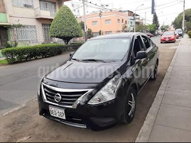 Nissan Versa  1.6L Drive  usado (2019) color Negro precio $9,900