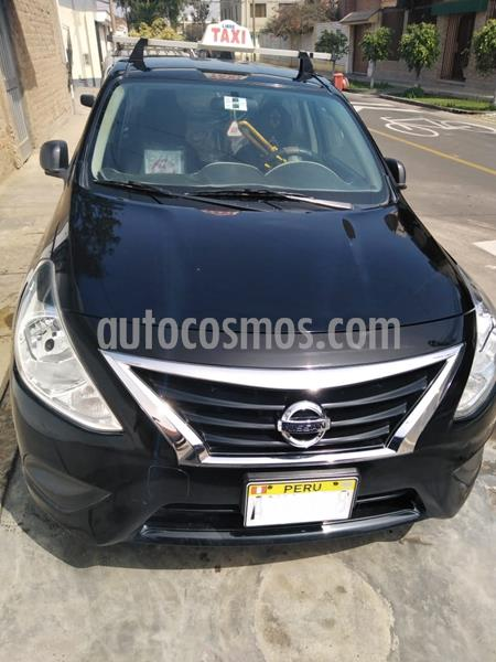 Nissan Versa  1.6L Sense  usado (2018) color Negro precio u$s8,500