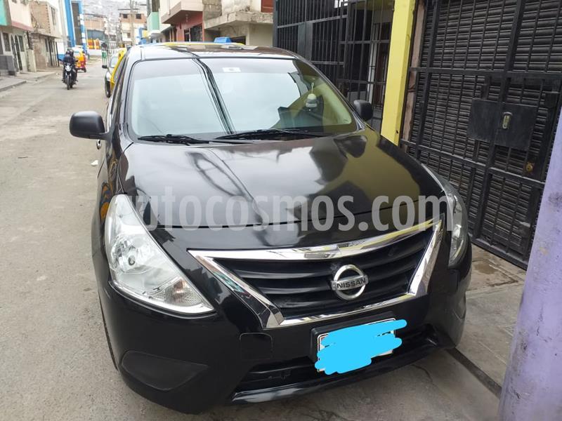 Nissan Versa  1.6L Drive Ac Pack Electrico usado (2017) color Negro precio $11,000