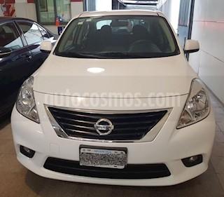 Foto venta Auto usado Nissan Versa Sense Aut (2014) color Blanco precio $310.000