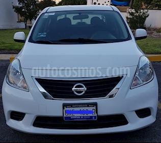 Nissan Versa Sense Aut usado (2012) color Blanco precio $110,000