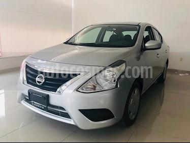 Foto venta Auto usado Nissan Versa Sense Aut (2017) color Plata precio $169,900