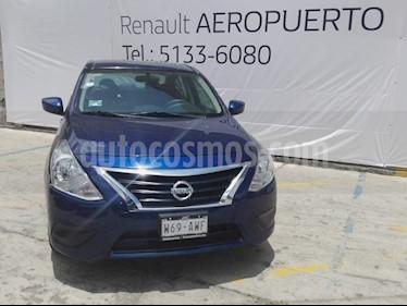 Foto venta Auto usado Nissan Versa Sense Aut (2018) color Azul precio $165,000