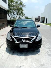 Foto Nissan Versa Sense Aut usado (2015) color Negro precio $160,000