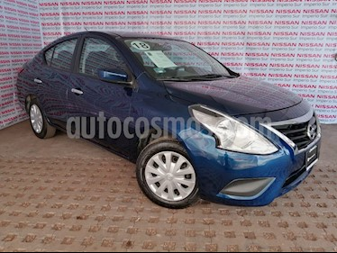 Nissan Versa Sense Aut usado (2018) color Azul precio $155,000