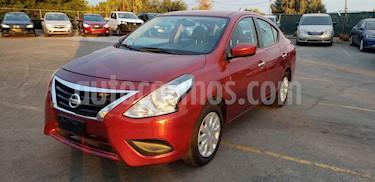 foto Nissan Versa Sense Aut usado (2018) color Rojo precio $167,900