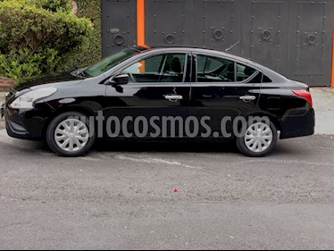 Foto Nissan Versa Sense Aut usado (2017) color Negro precio $139,000