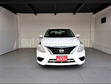 Foto venta Auto usado Nissan Versa Sense Aut (2018) color Blanco precio $189,000