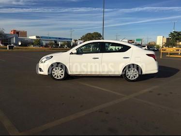 Foto venta Auto usado Nissan Versa Sense Aut (2018) color Blanco precio $195,000