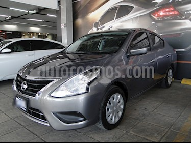 Foto venta Auto usado Nissan Versa Sense Aut (2017) color Acero precio $195,000