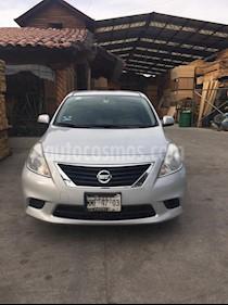 Foto venta Auto usado Nissan Versa Sense Aut (2012) color Plata precio $90,000