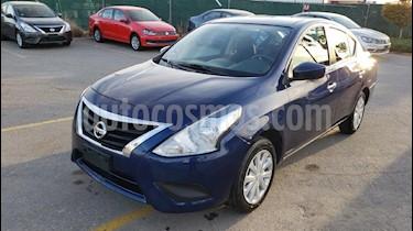 Foto venta Auto usado Nissan Versa Sense Aut (2018) color Azul precio $189,800