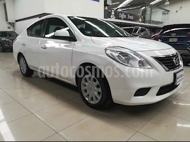 Foto venta Auto usado Nissan Versa Sense Aut (2013) color Blanco precio $116,000