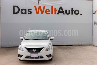 Foto Nissan Versa Sense Aut usado (2018) color Blanco precio $198,000